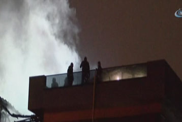 kadıköy vakıf binasında yangın