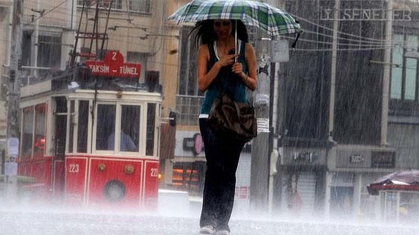 İSTANBUL'LULARA METEOROLOJİDEN YENİ HAFTA YAĞIŞ HABERİ